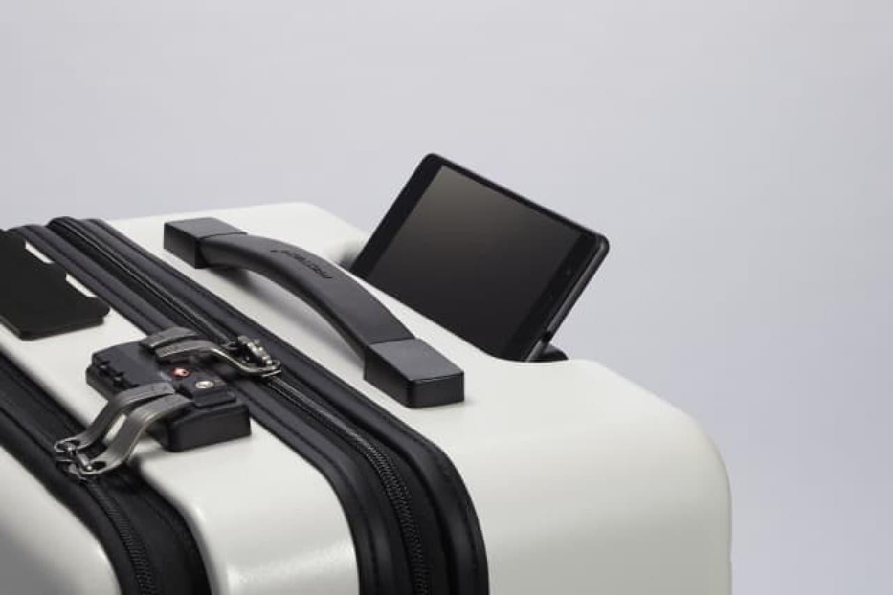 スマートフォンの設置イメージ