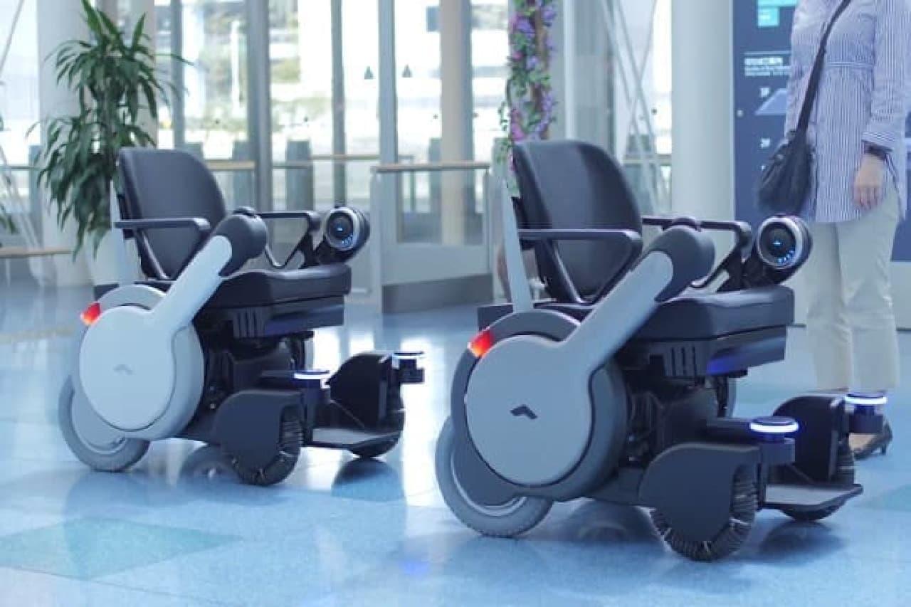 ロボット車いすのイメージ