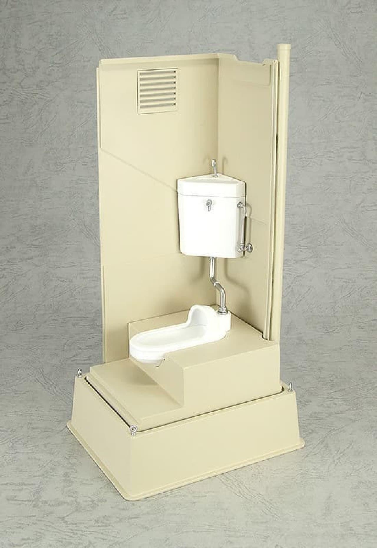 仮設トイレをフィギュア化した「Mabell Original Miniature Model Series 1/12 仮設トイレ」