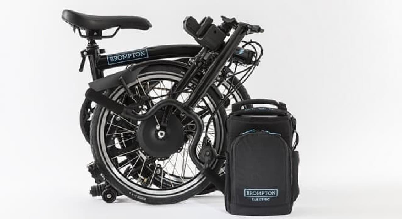 Bromptonの電動アシスト自転車「BROMPTON ELECTRIC」