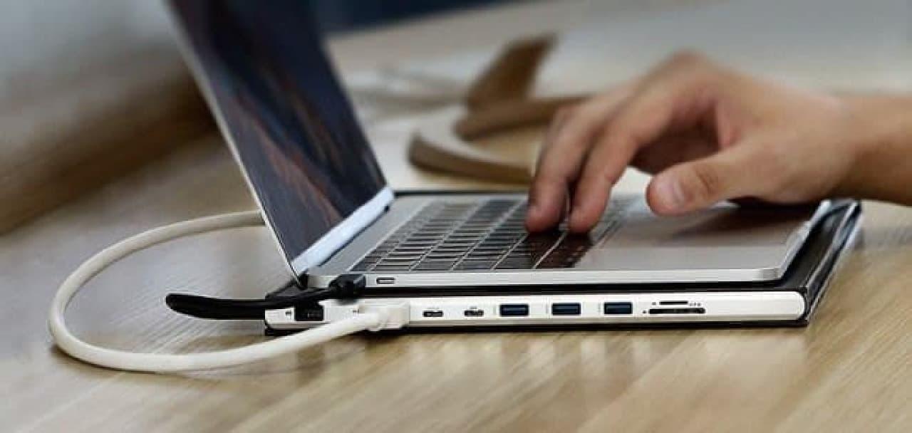 MacBook Pro用のケース「DOCKCASE」