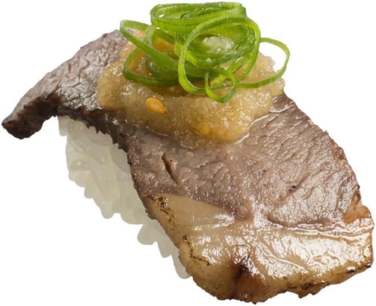 スシローで肉ずし&炙り商品を8月18日から