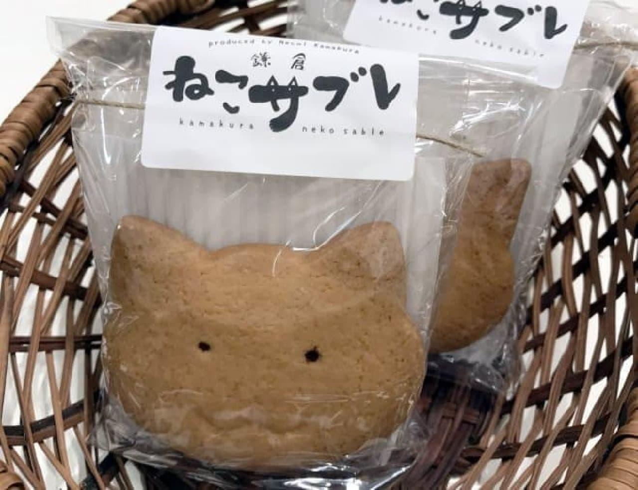 ネコの街鎌倉に、新土産「鎌倉ねこサブレ」