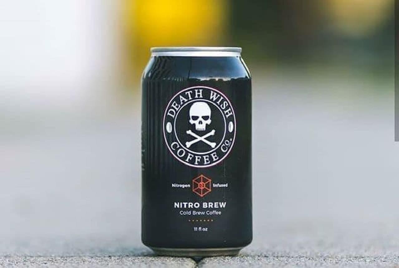 あの「Death Wish Coffee(死の願望コーヒー)」に缶入りの「DEATH WISH NITRO BREW」