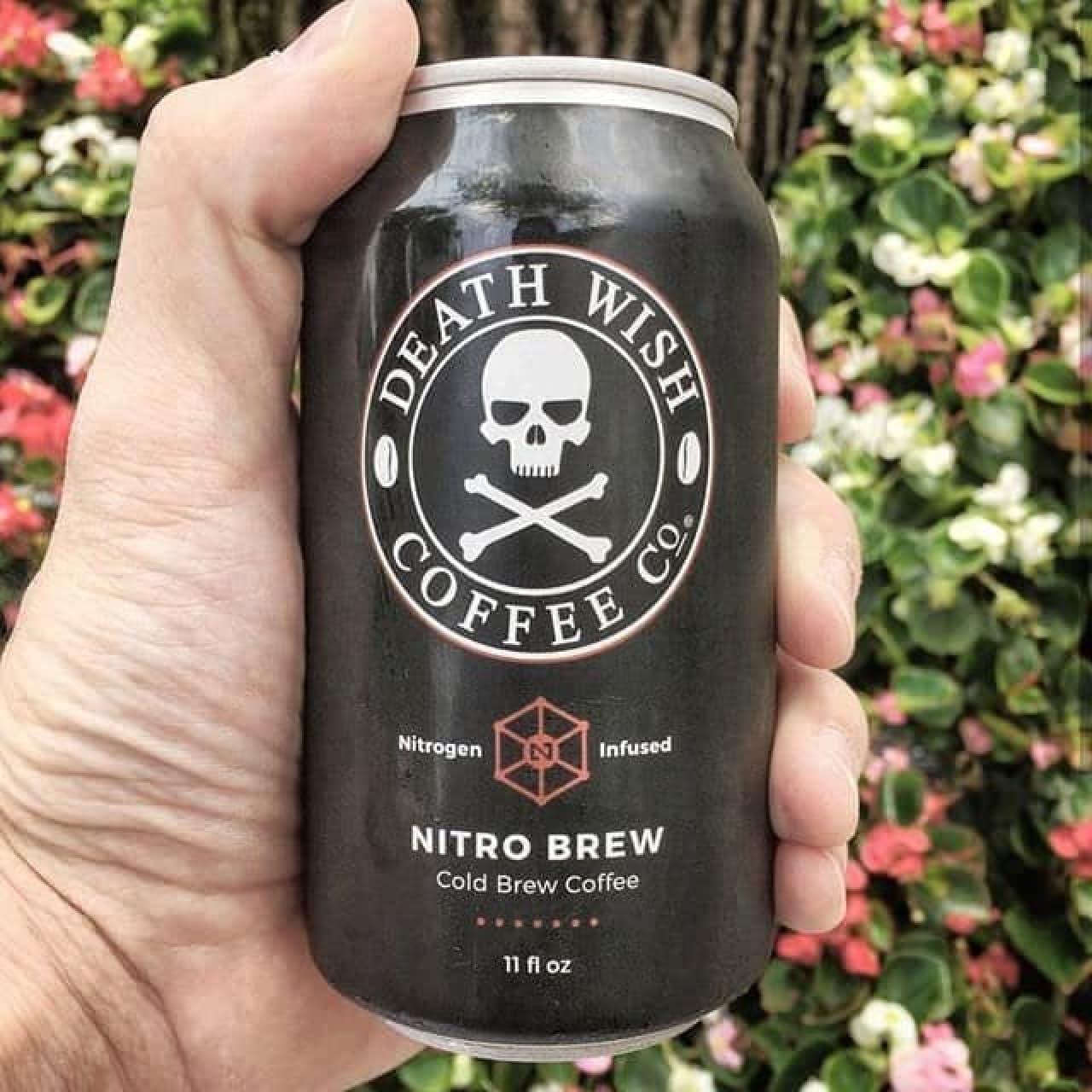 Death Wish Coffee(死の願望コーヒー)に缶コーヒー