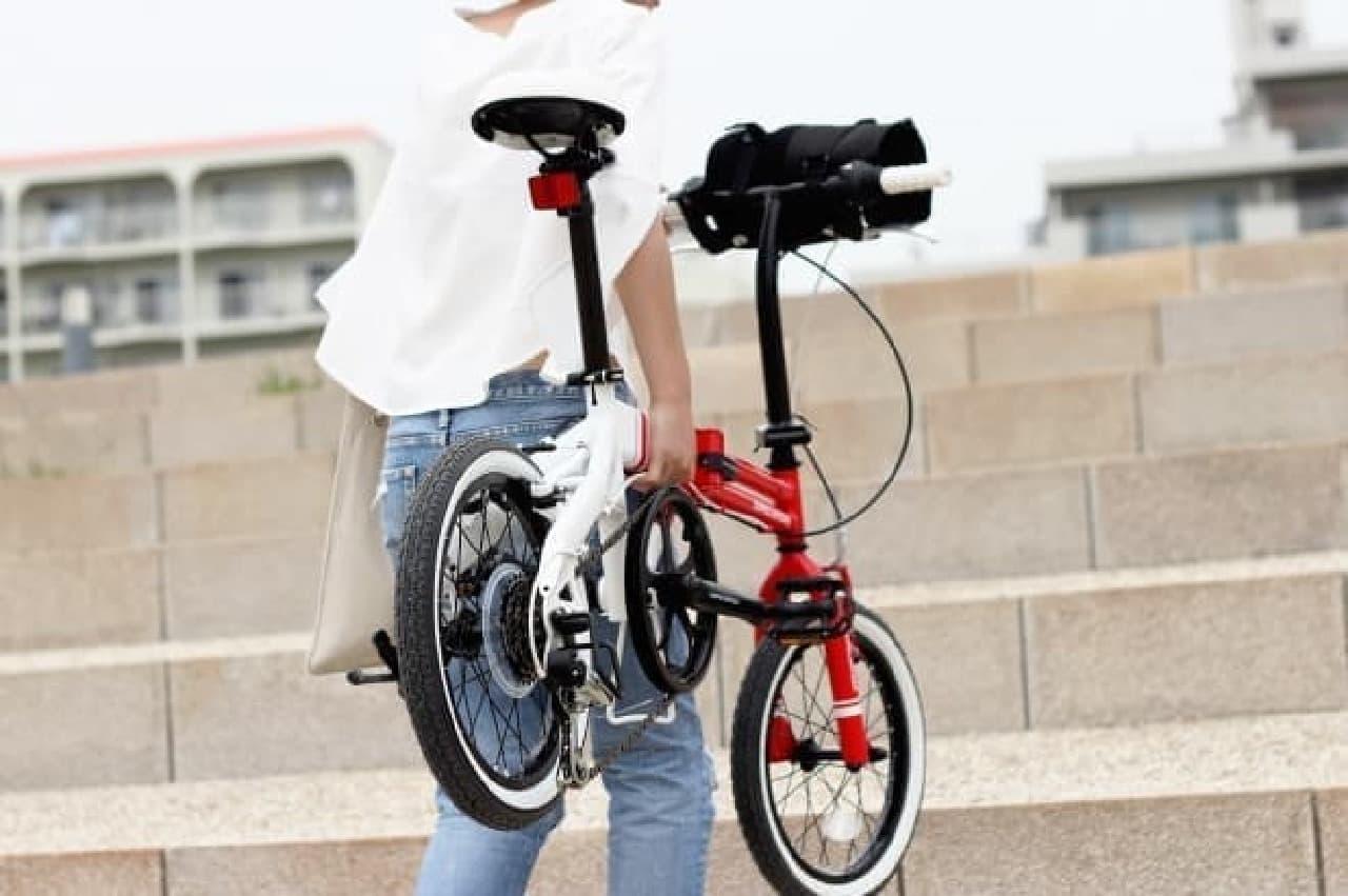 折り畳み自転車「URBAN FLAMINGO(アーバンフラミンゴ)」