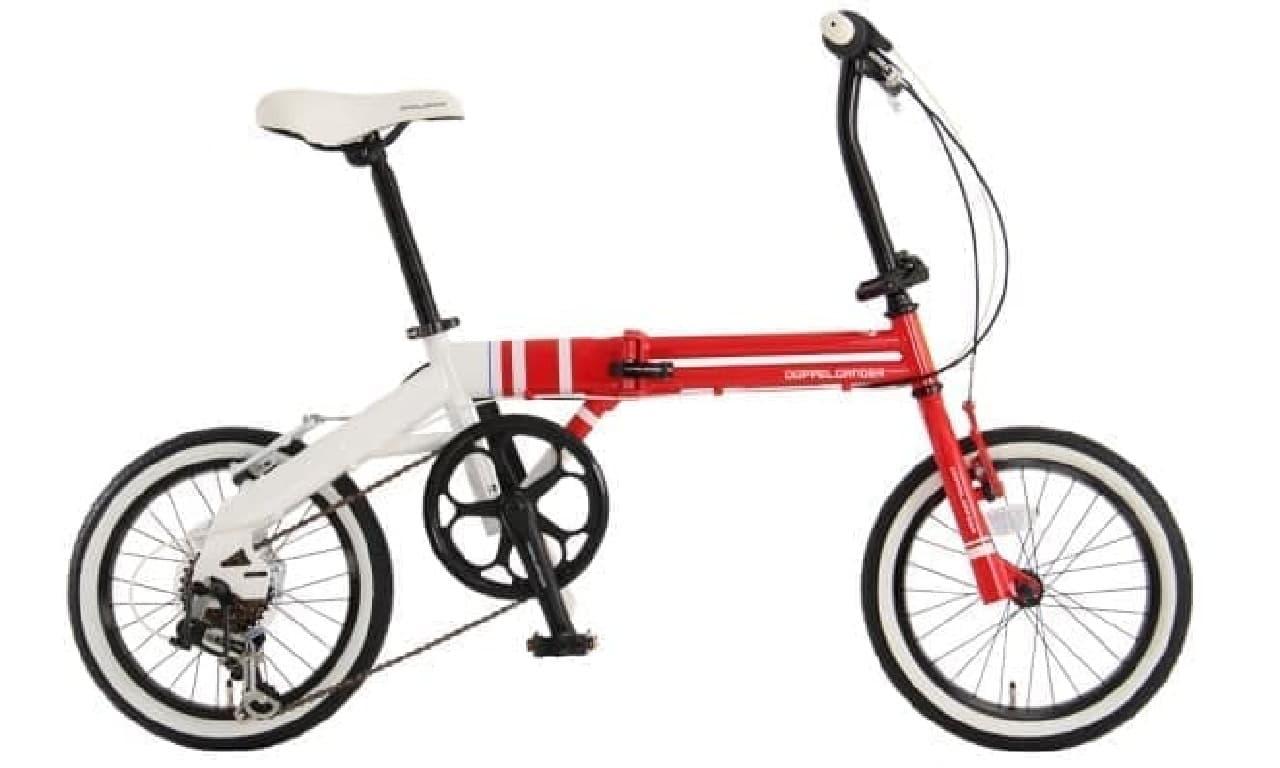 折り畳み自転車「URBAN FLAMINGO(アーバンフラミンゴ)」-