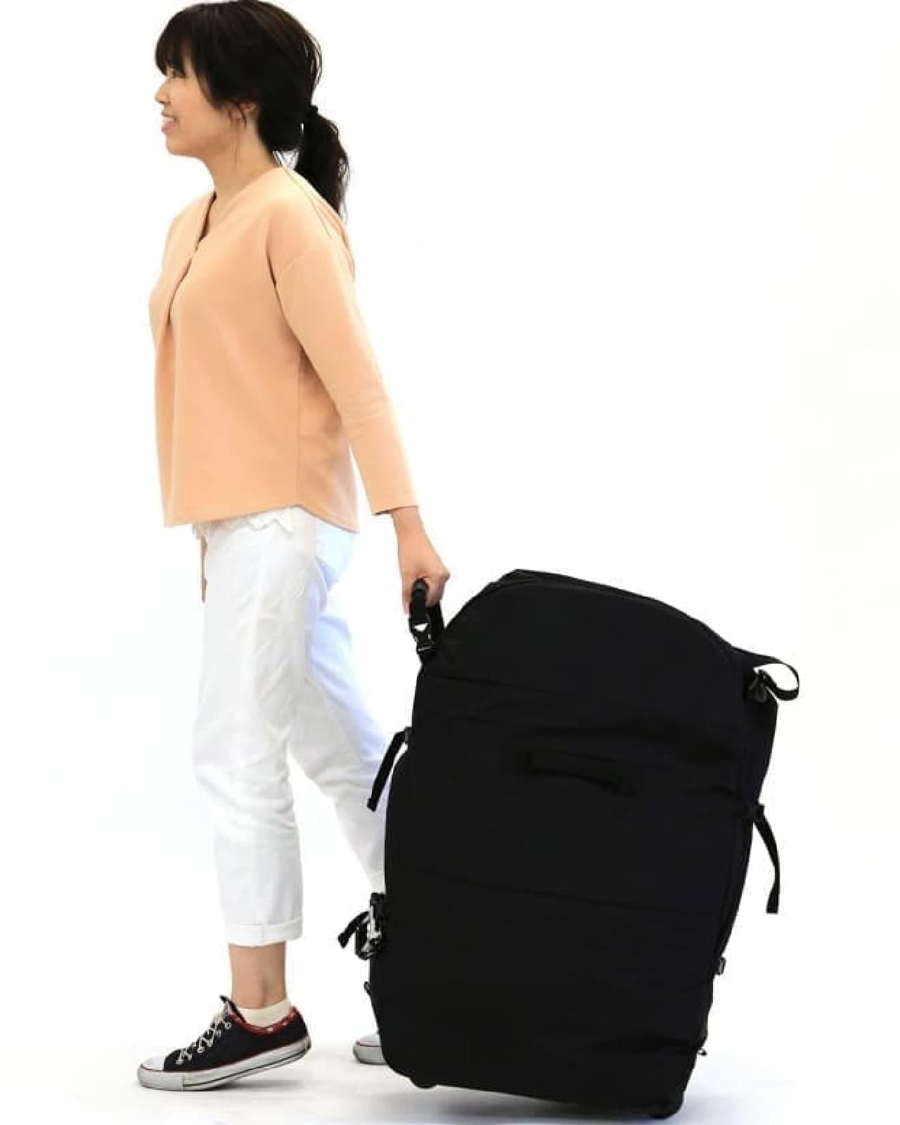 「キャスター付き3WAYバッグ」発売