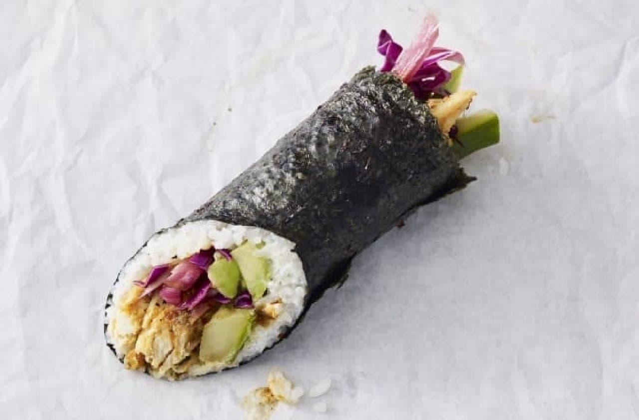 スターバックスの巻き寿司「Chicken Maki Roll(チキン巻き寿司)」