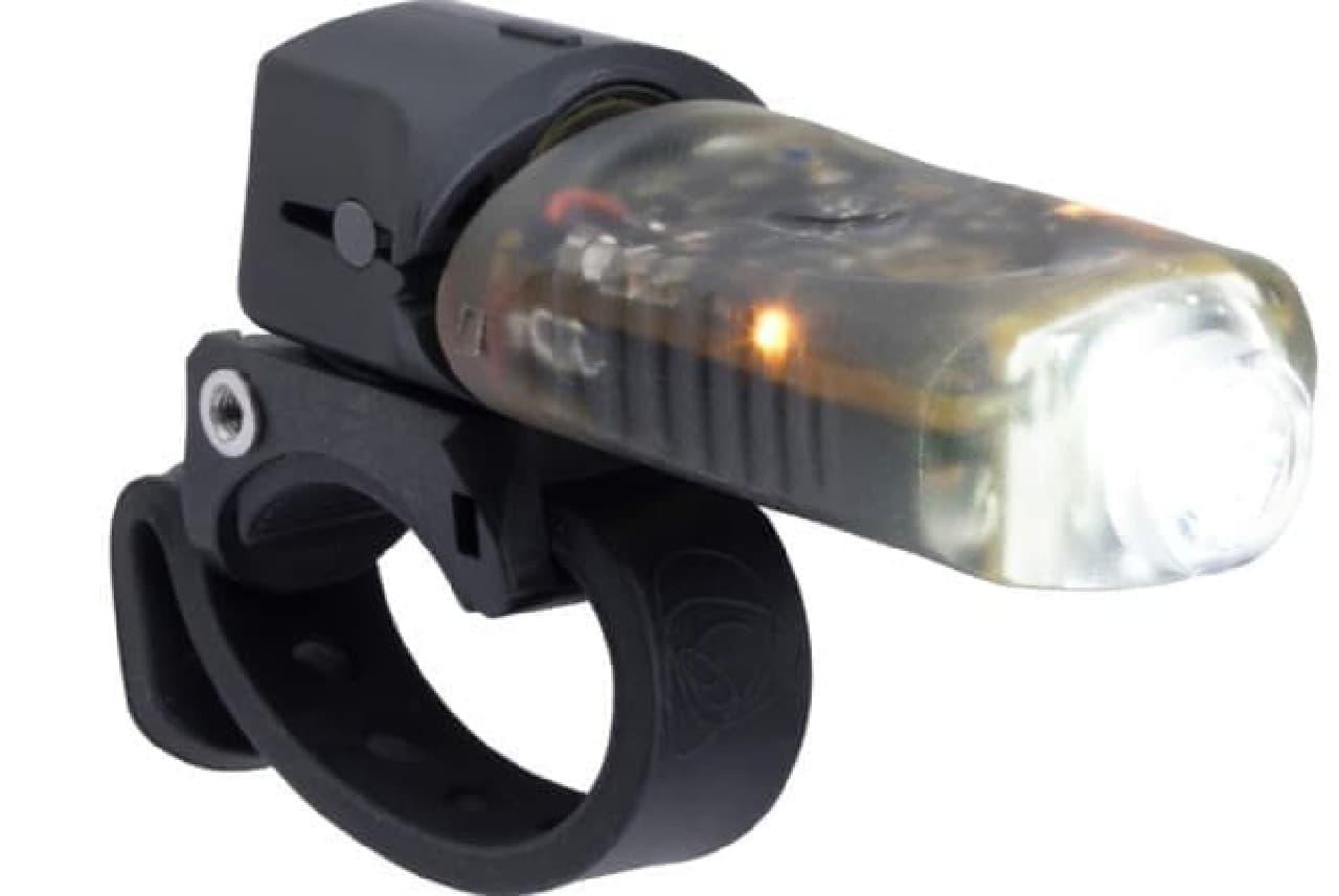 自動で点灯する自転車用ライトLight & Motionの「Vibe Pro」
