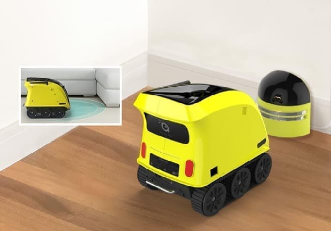 犬の世話をするロボット「Anthouse」