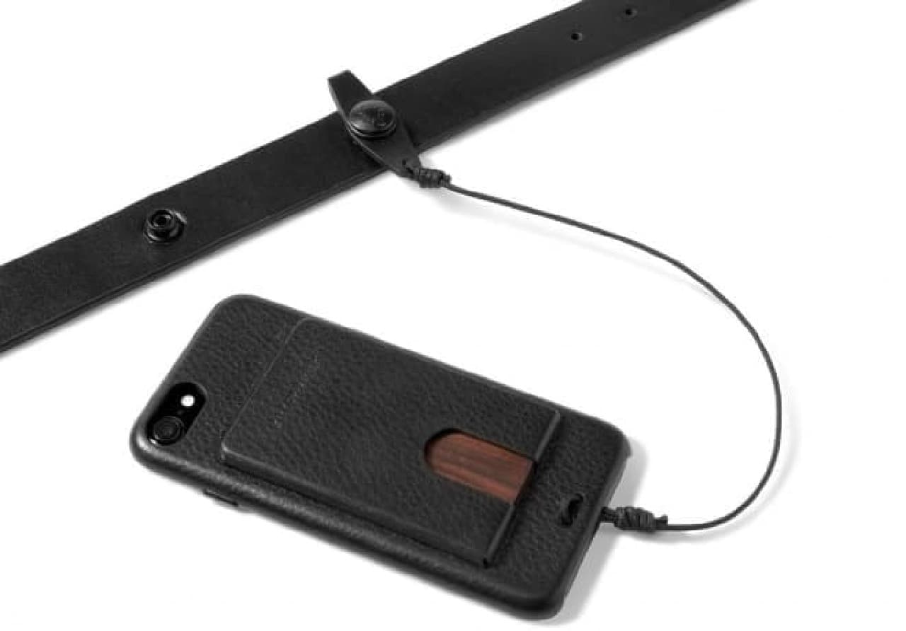 iPhoneの置き忘れを防ぐUTILITY BELT+SNAP CASE for iPhone 7