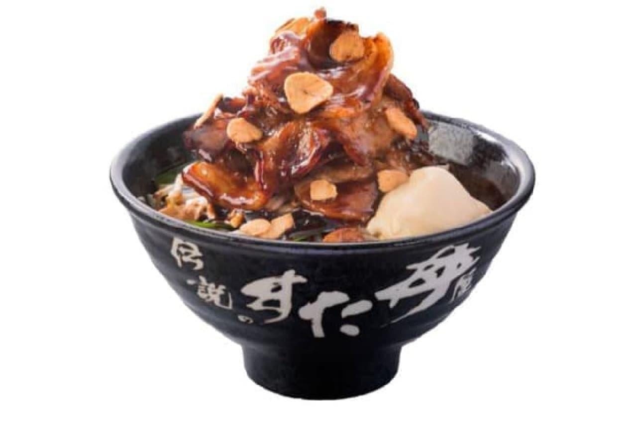 トンテキ丼のイメージ