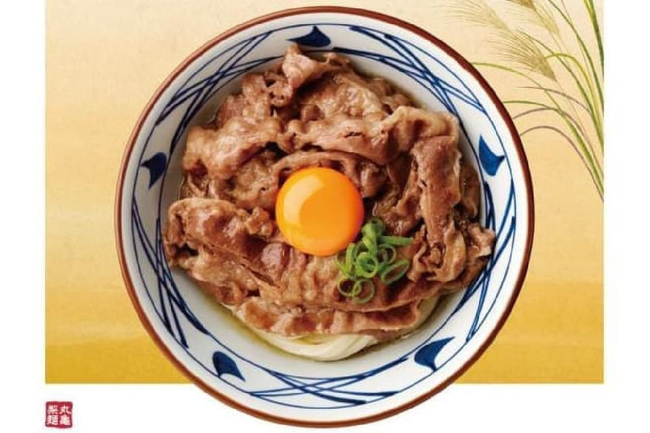 丸亀製麺のうどんイメージ