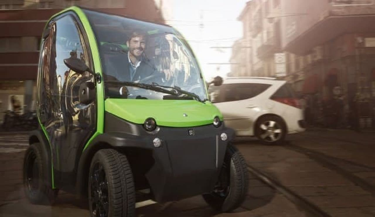 イタリア製電気自動車「BIRO」