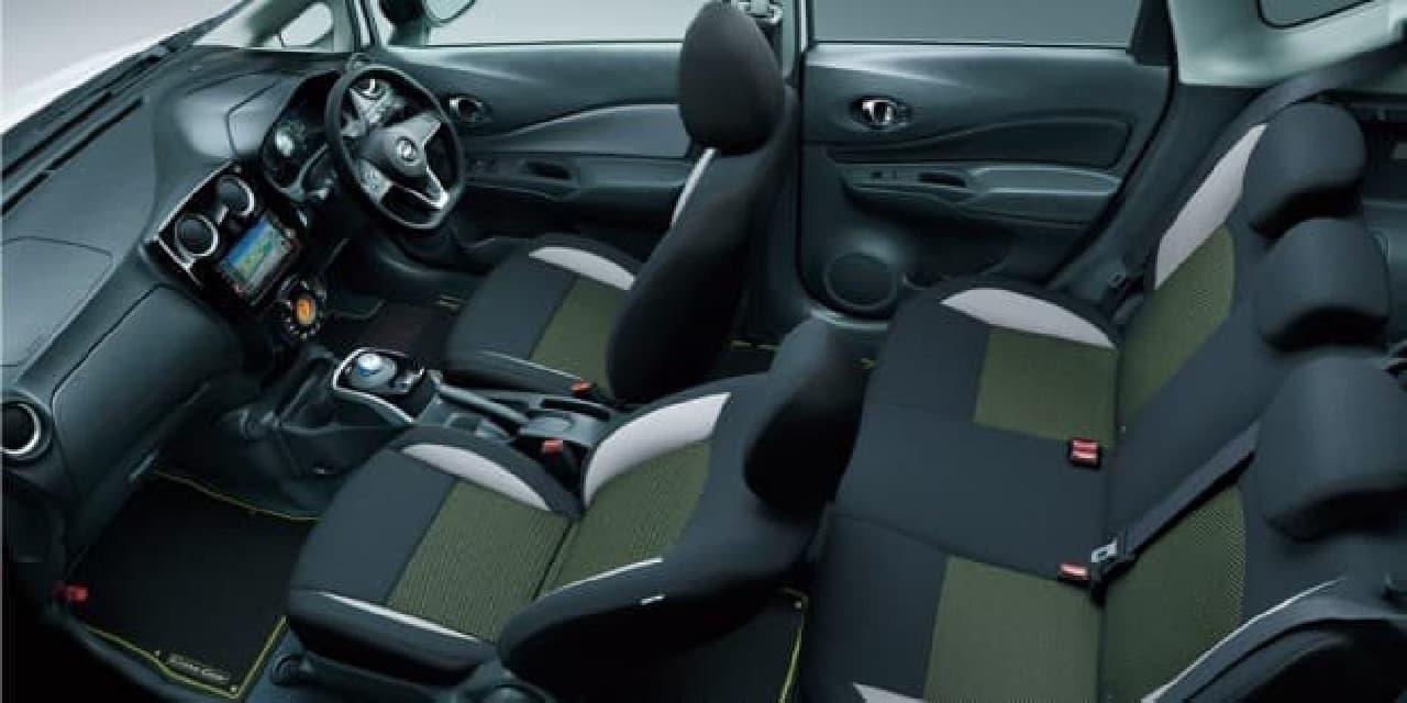 日産「ノート」にSUVテイストの特別仕様車「ノート C-Gear」