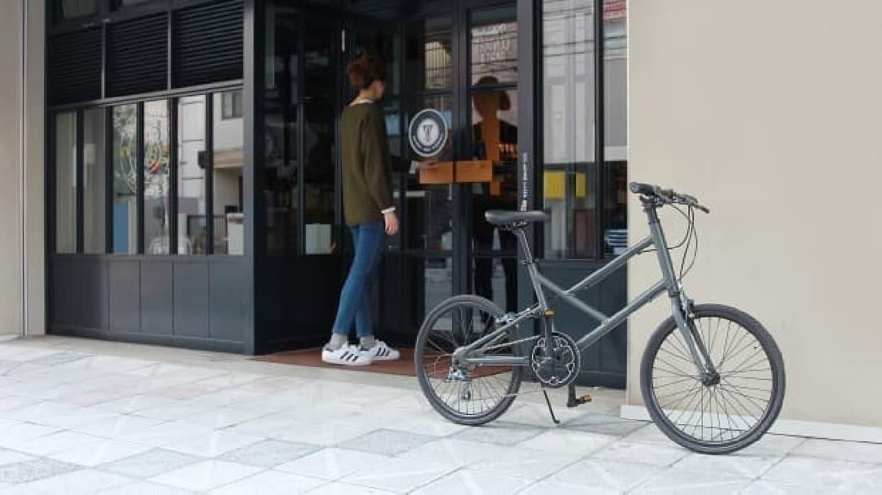 20インチサイズの自転車「Nacht(ナハト)」