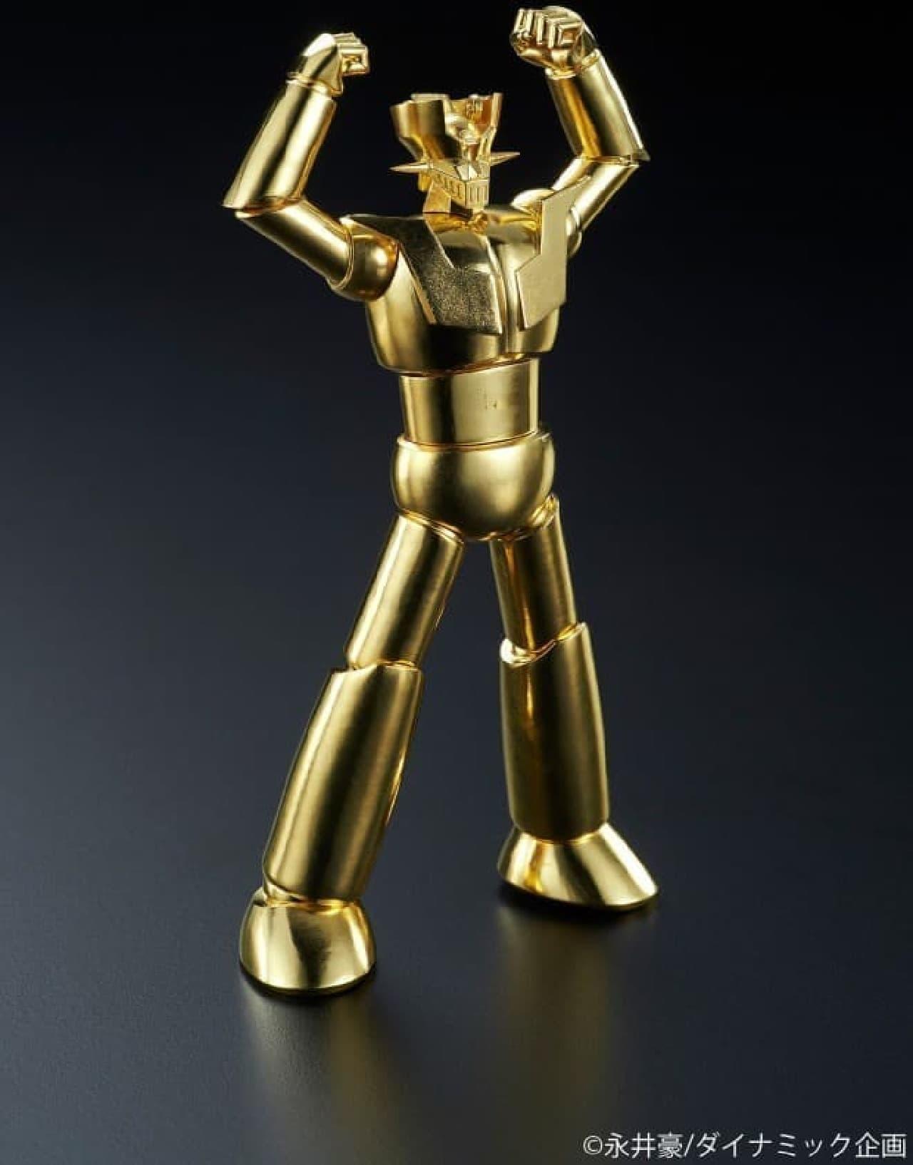 純金製マジンガーZ