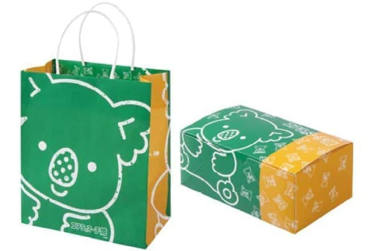 コアラのマーチ焼のボックス