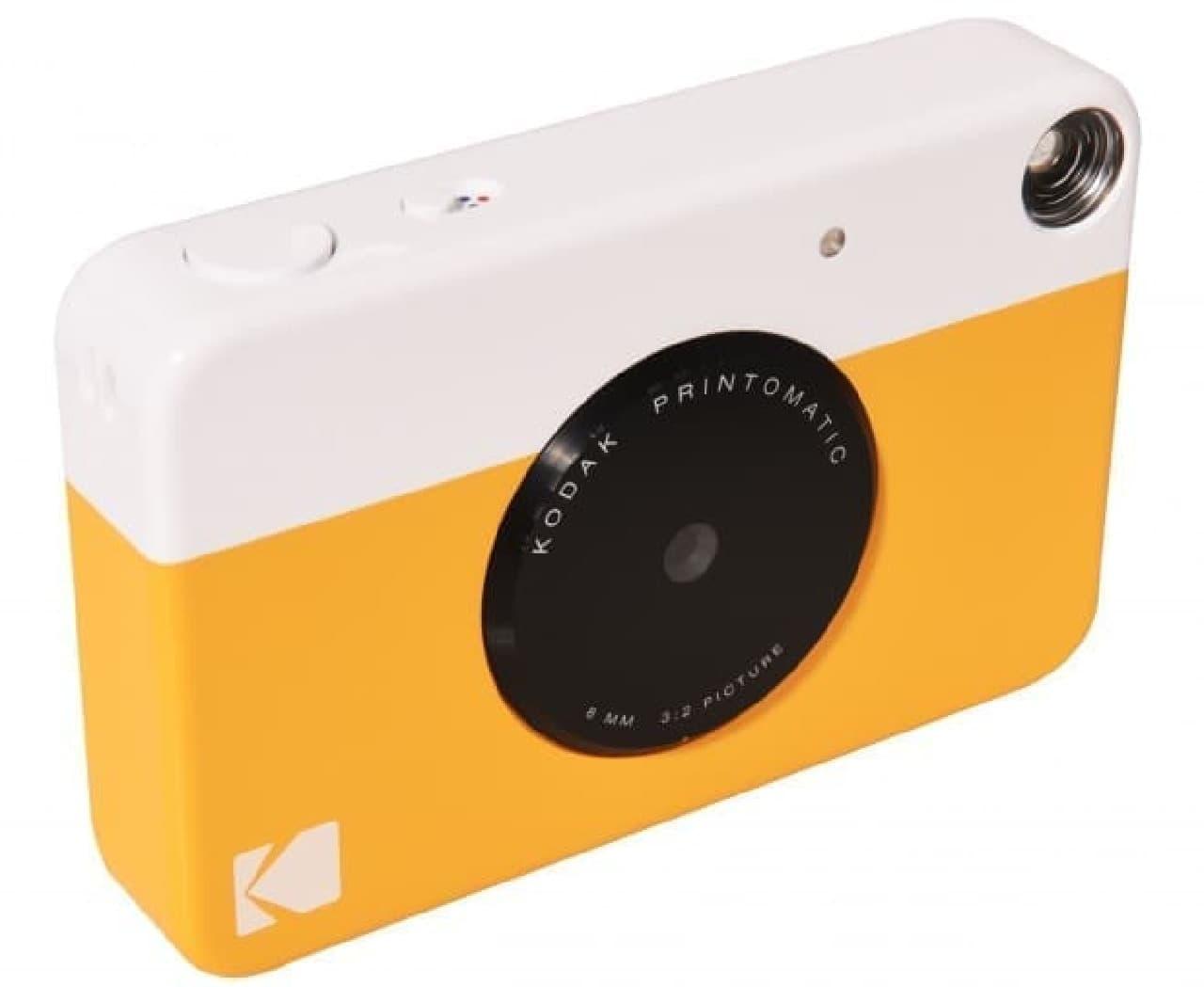 インスタントデジタルカメラ「KODAK PRINTOMATIC」