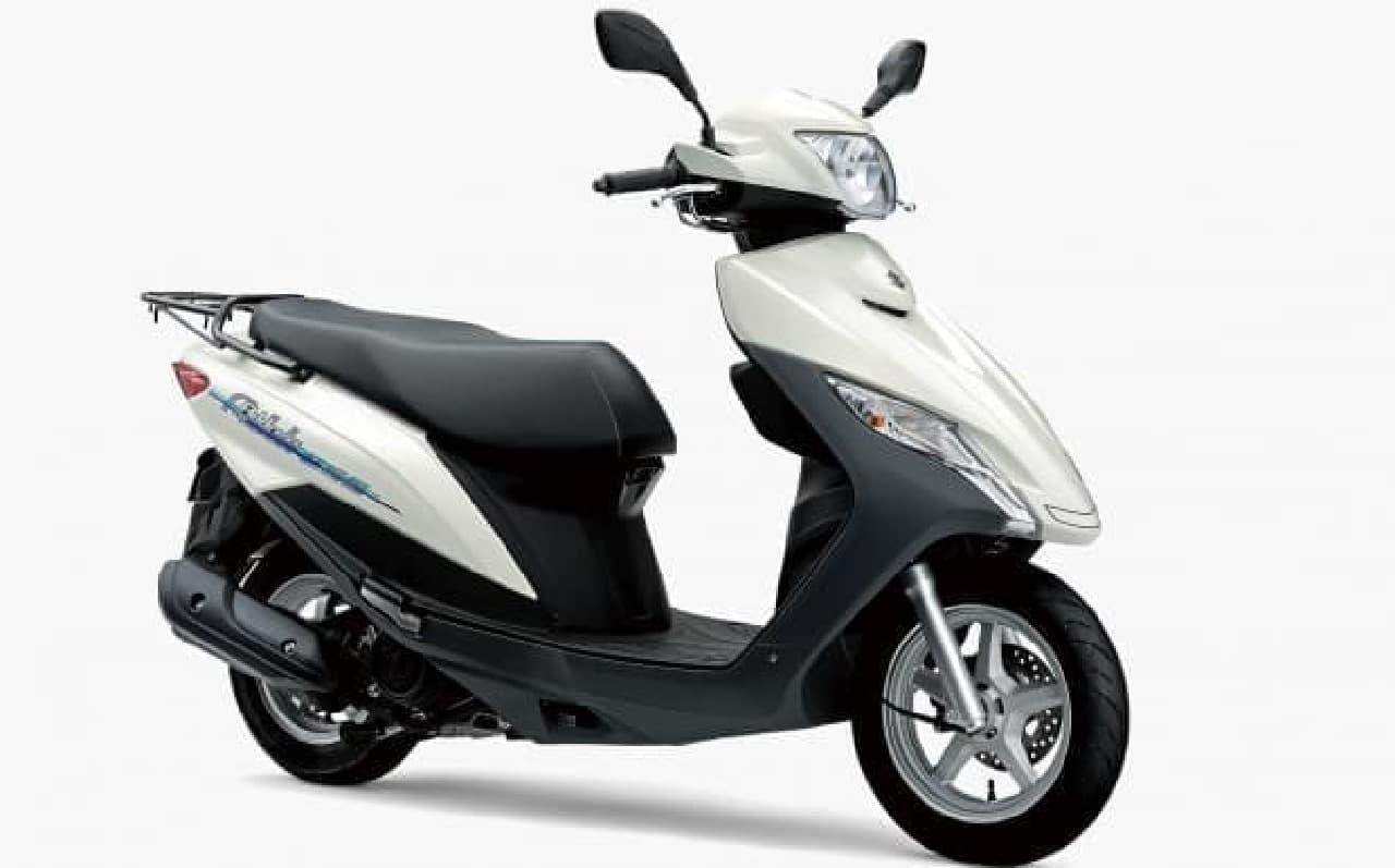 新型125ccスクーター スズキ「アドレス125」