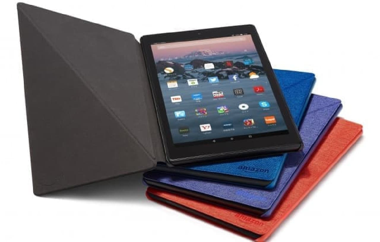 「Amazon Fire HD10」発売