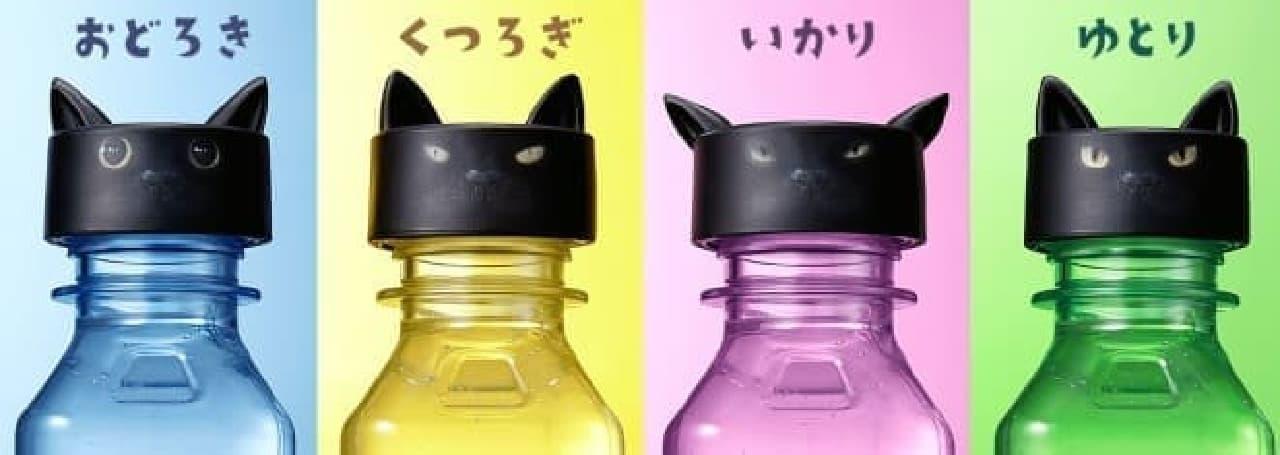 シャノアールでもらえるペットボトルの「ふたねこ」