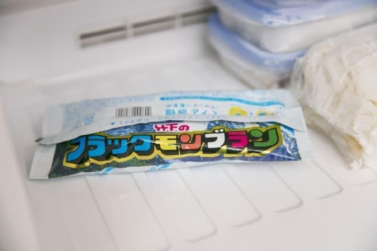 保冷剤そっくりのアイス