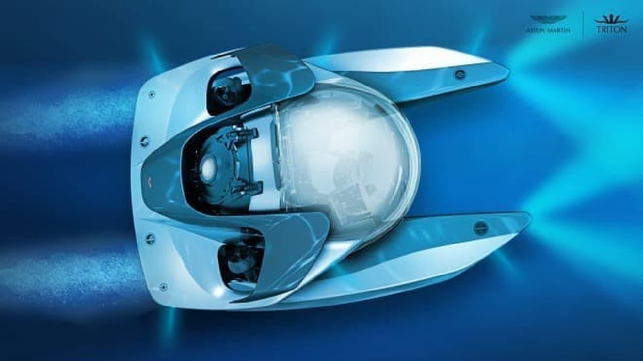 アストンマーティンの潜水艇製造プロジェクト「プロジェクトネプチューン」