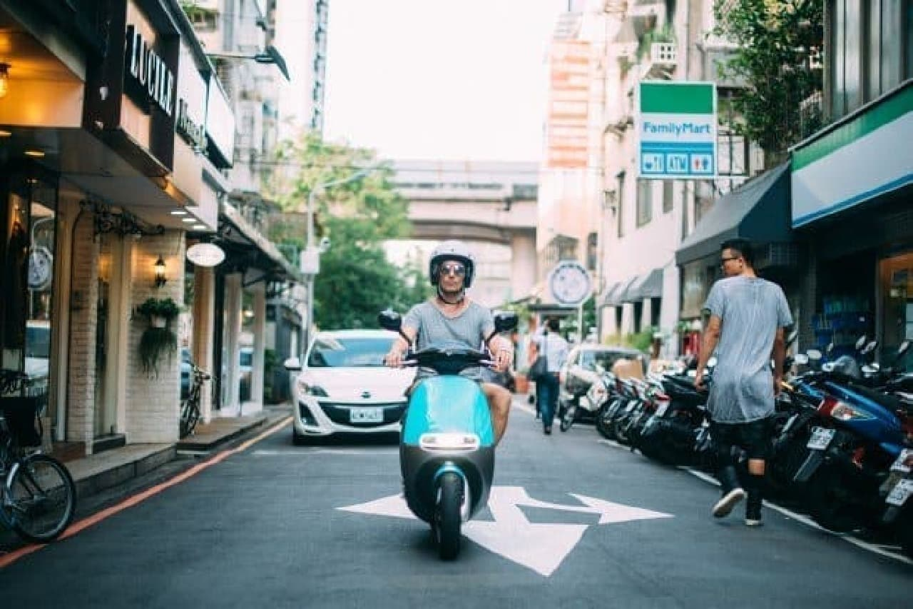 電動バイク「Gogoro」、日本上陸