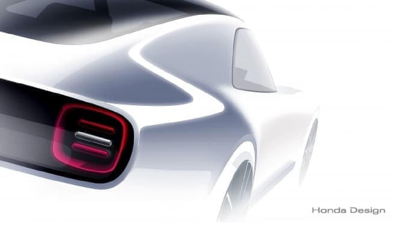 ホンダ、AI搭載スポーツカー「Honda Sports EV Concept」