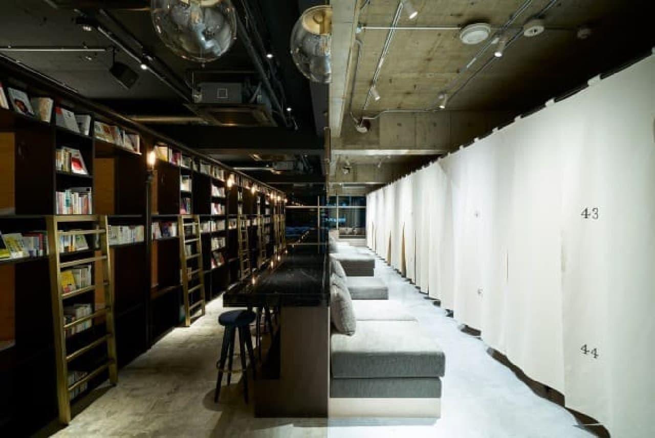 泊まれる本屋「BOOK AND BED TOKYO」浅草店