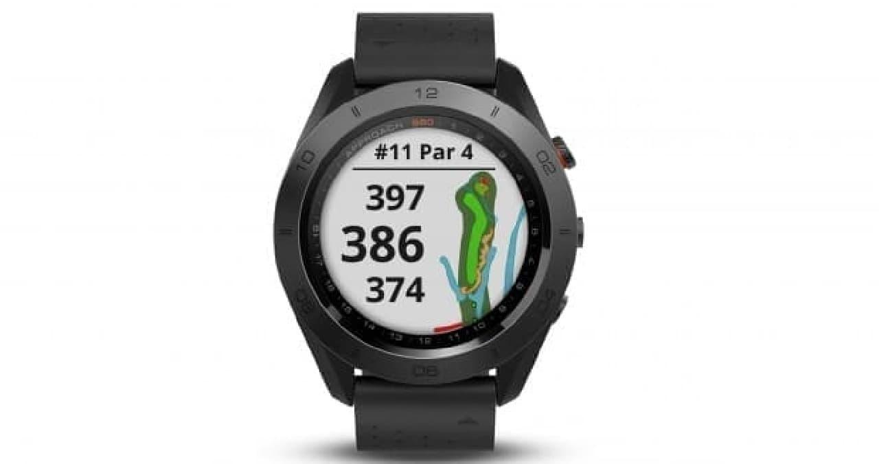 ゴルフ専用GPSウォッチ GARMIN「Approach S60」(Premium)