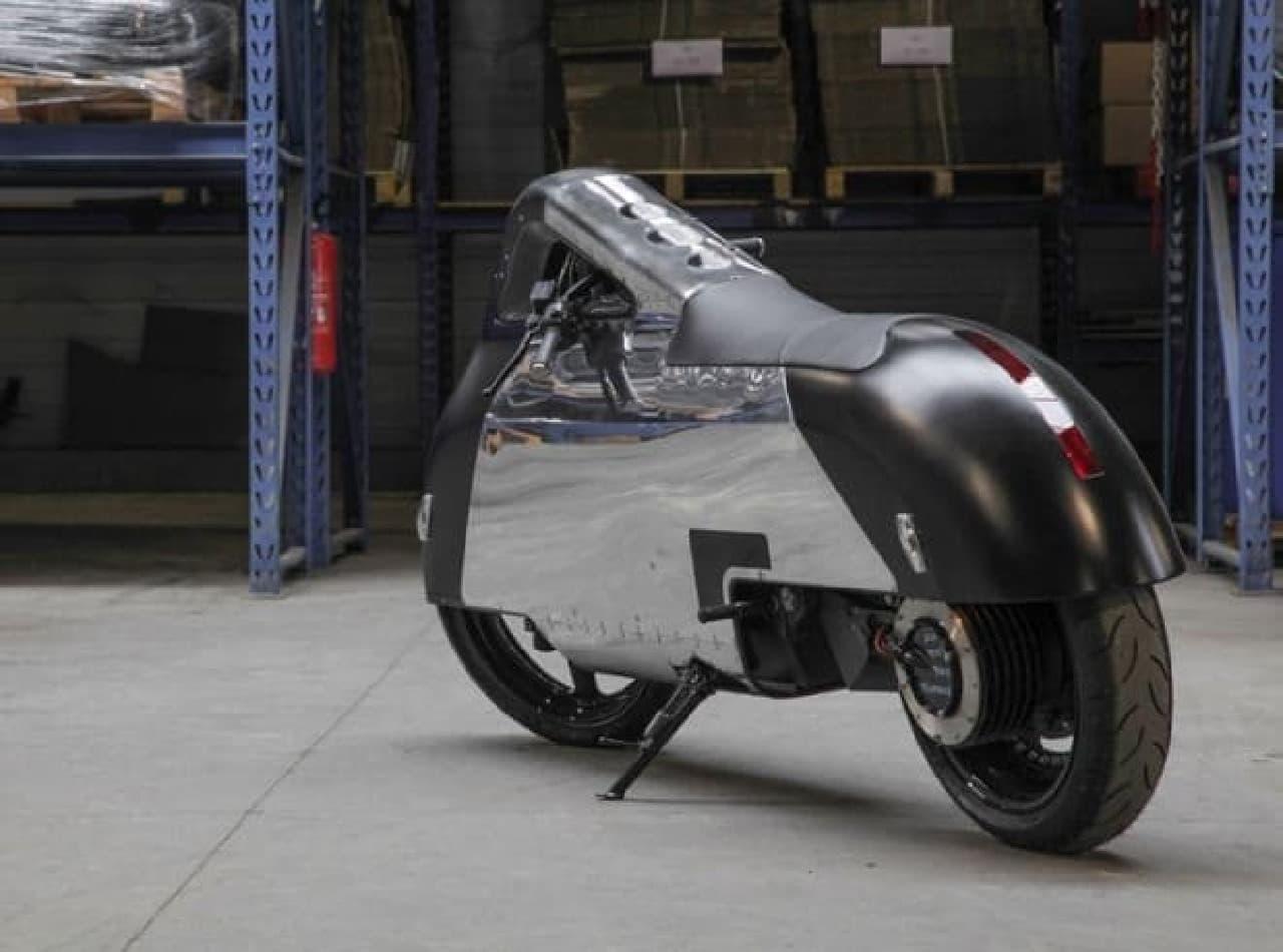 「希望」という名のカスタム電動バイク「Hope」