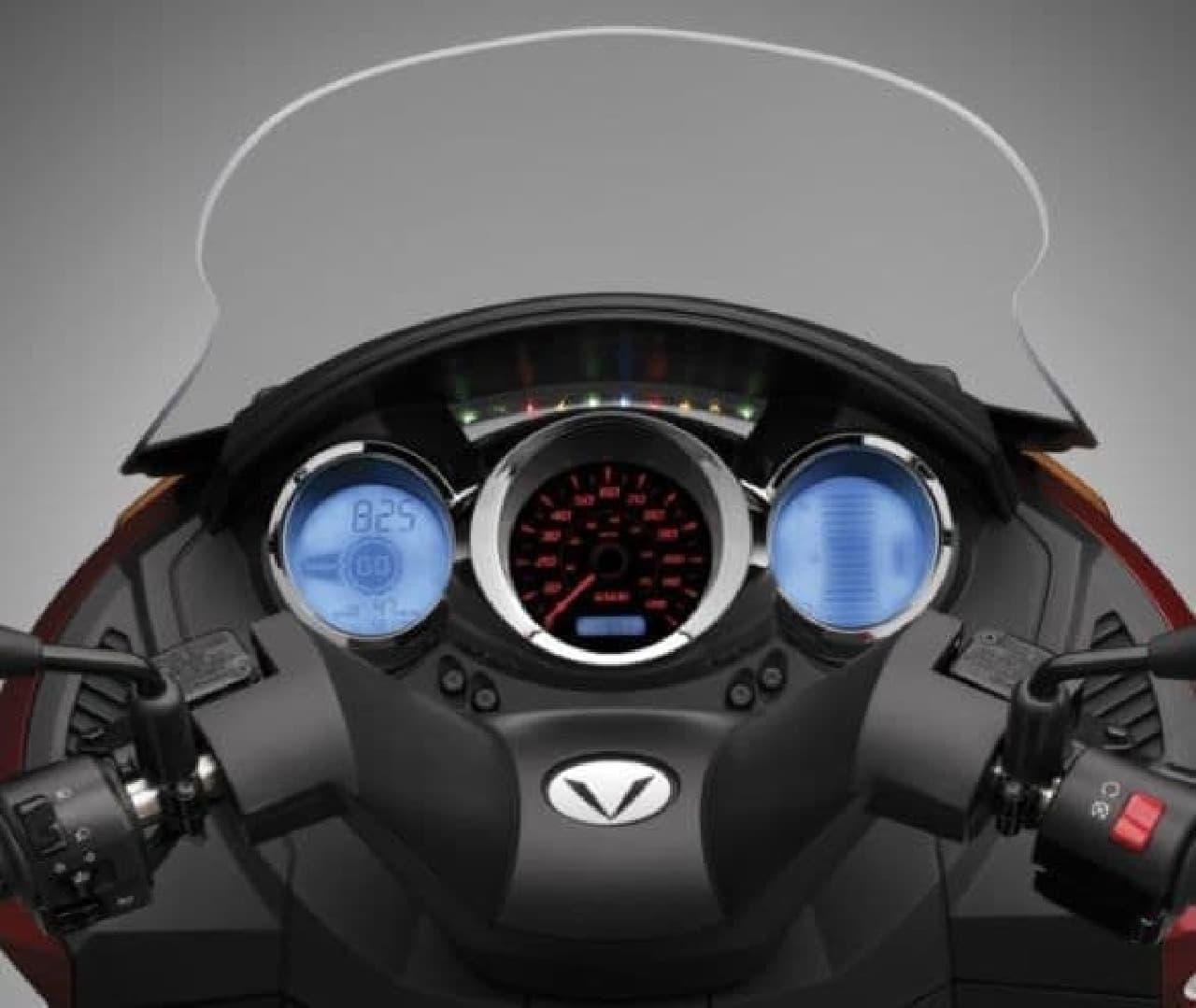 Vectrixの電動バイク「VX-1」