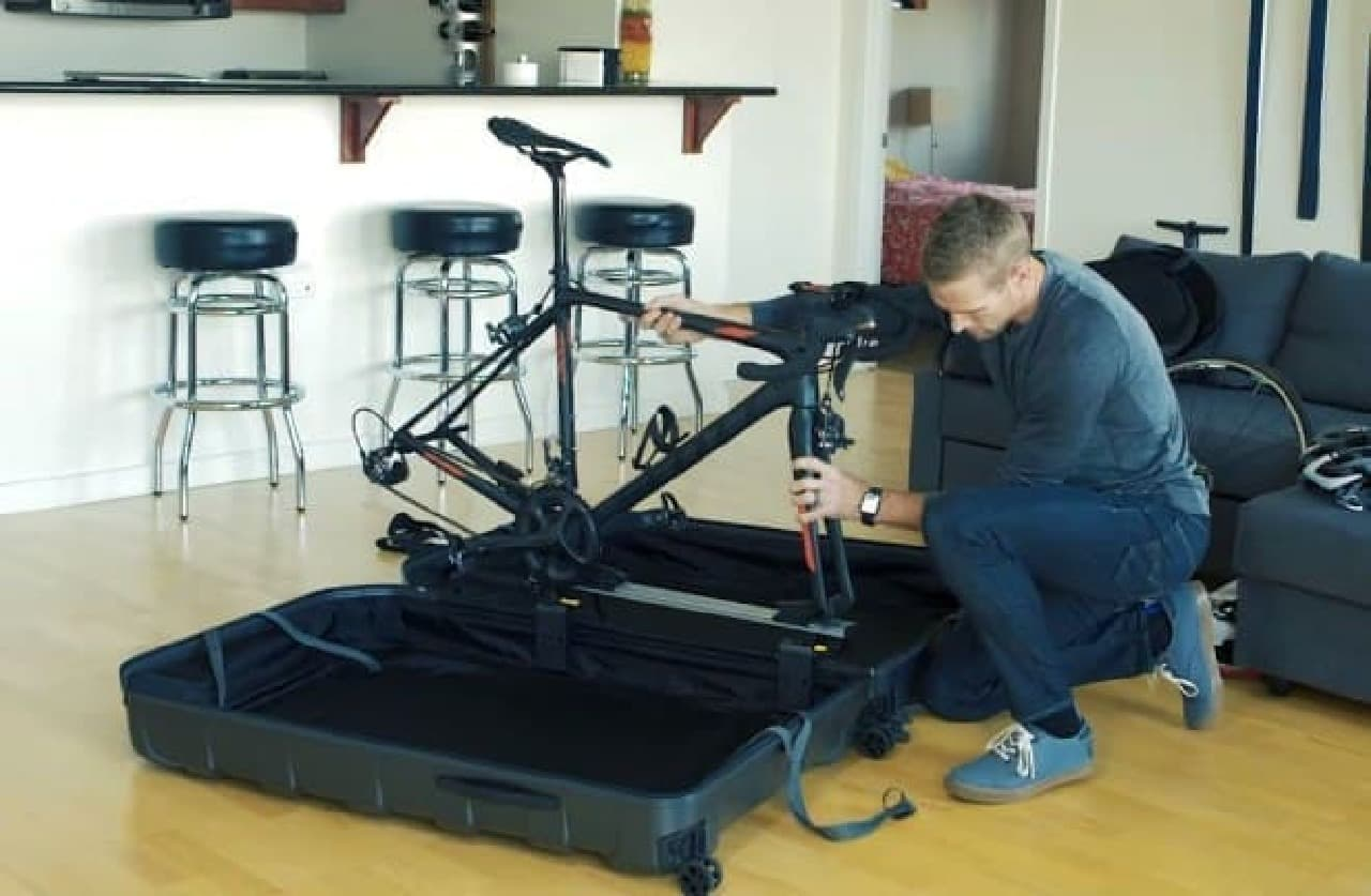 自転車専用のスーツケース、Topeak「Pakgo X」