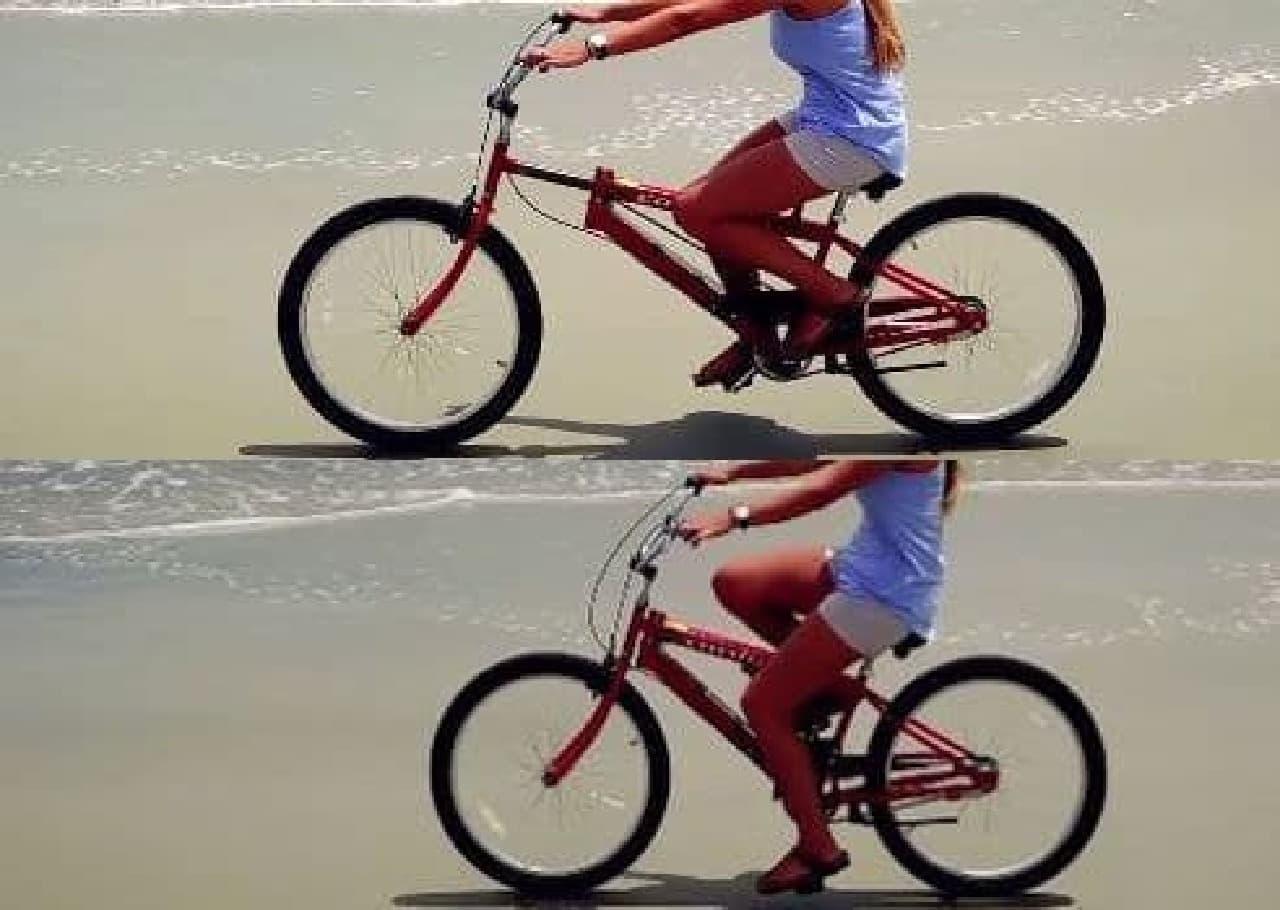 上半身を鍛えられるフィットネスバイク「Cardigo」