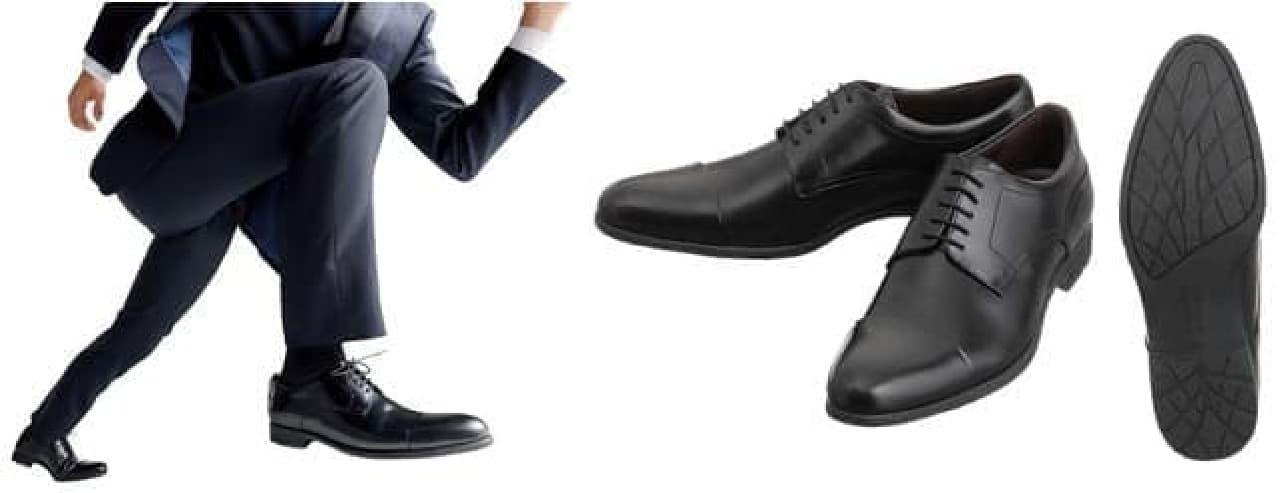 ブリヂストンの技術を応用した革靴