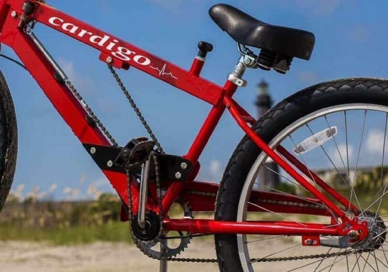 しゃくとり虫みたいな自転車「Cardigo」