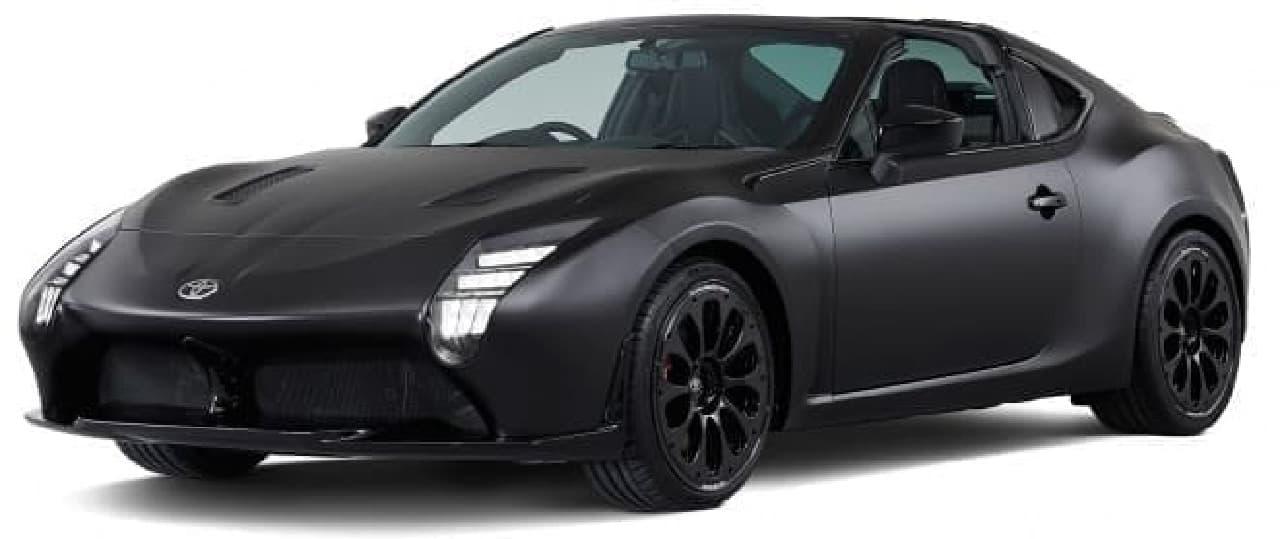 トヨタ、「GR HV SPORTS concept」を初公開