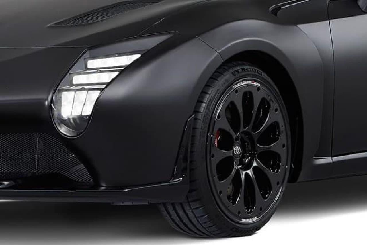 トヨタ、「GR HV SPORTS concept」