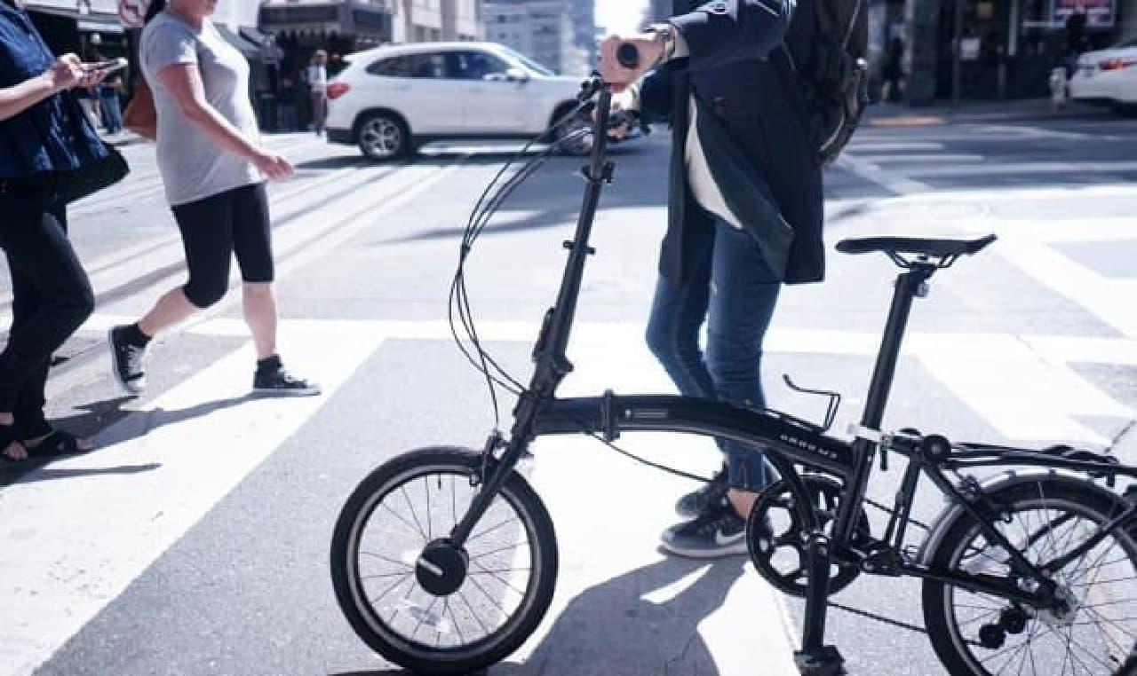 完全自動な自転車用ロック「Bisecu」