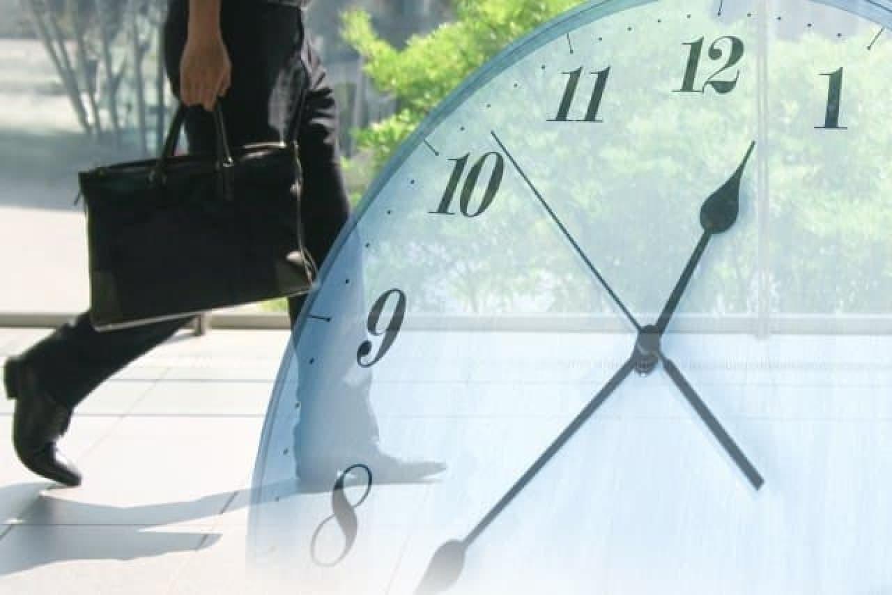 労働時間のイメージ