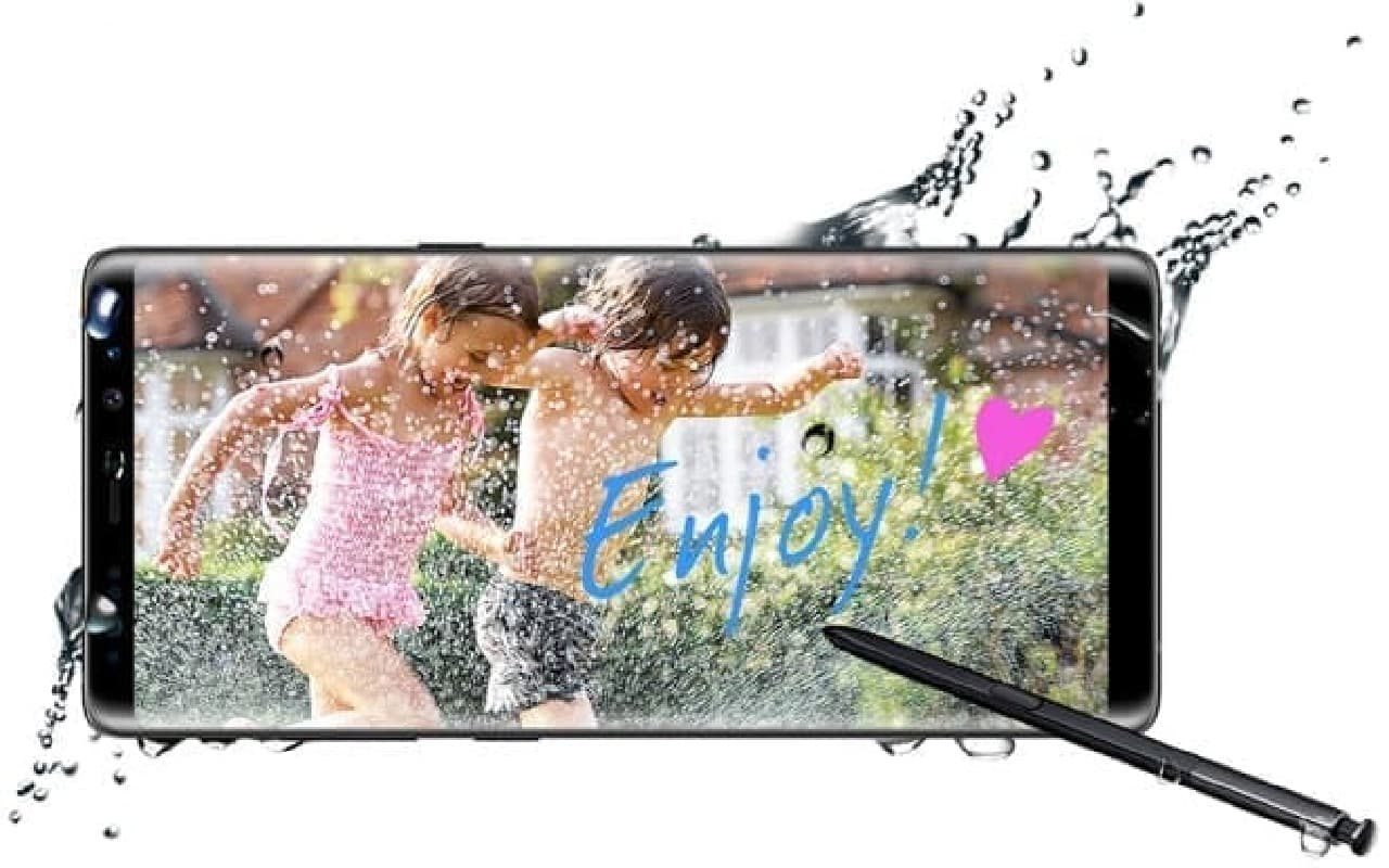 Galaxy Note8のイメージ