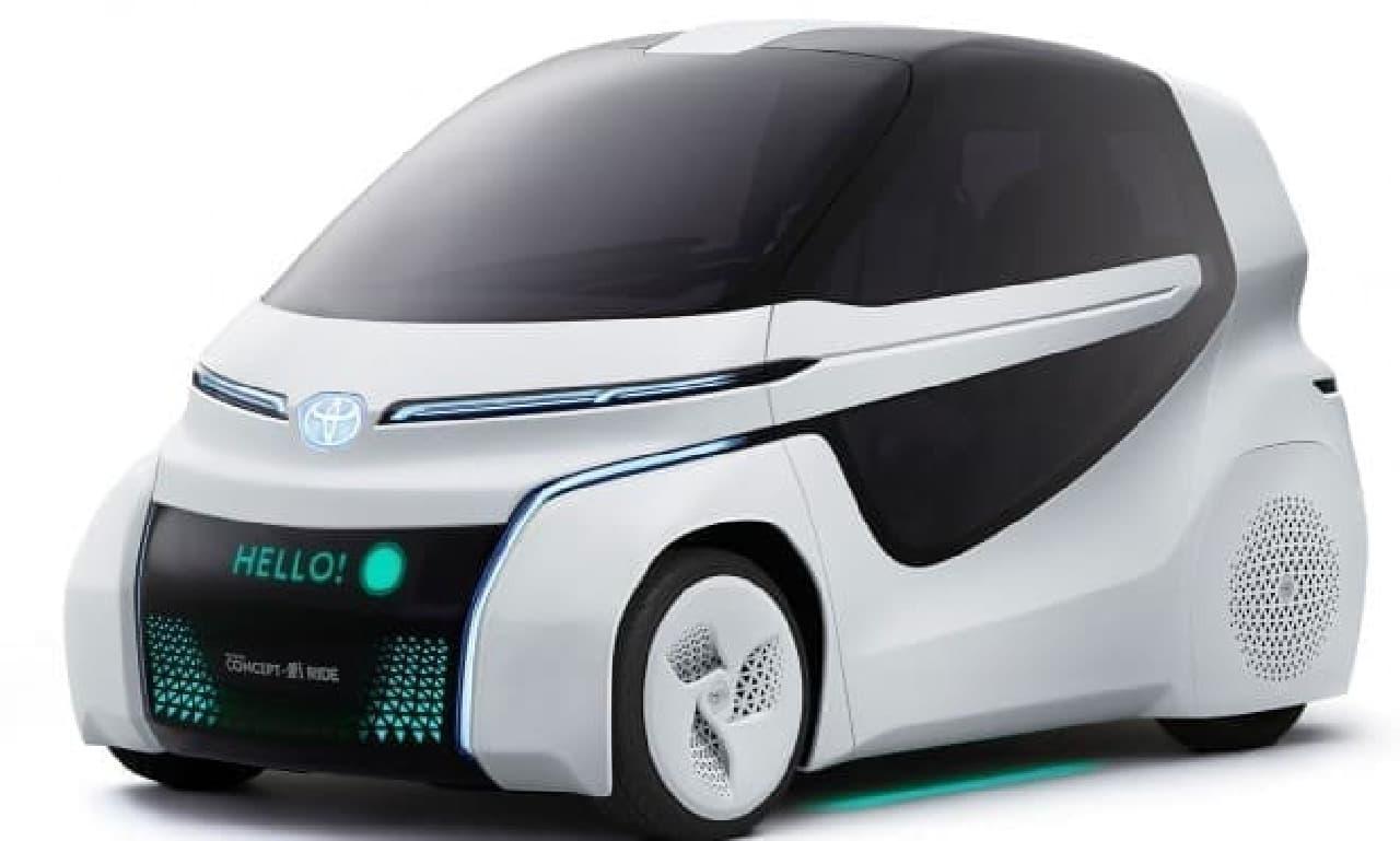 車いすユーザーにとって使い勝手のよいモビリティTOYOTA Concept-愛i RIDE