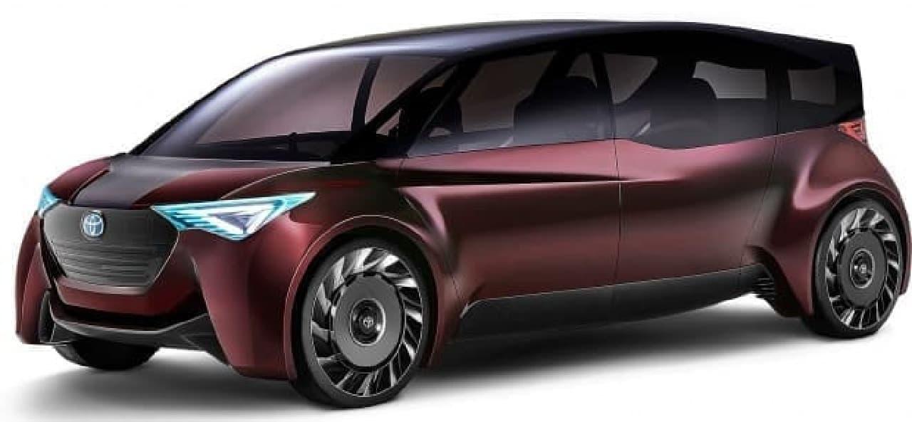 トヨタの水素自動車「Fine-Comfort Ride」