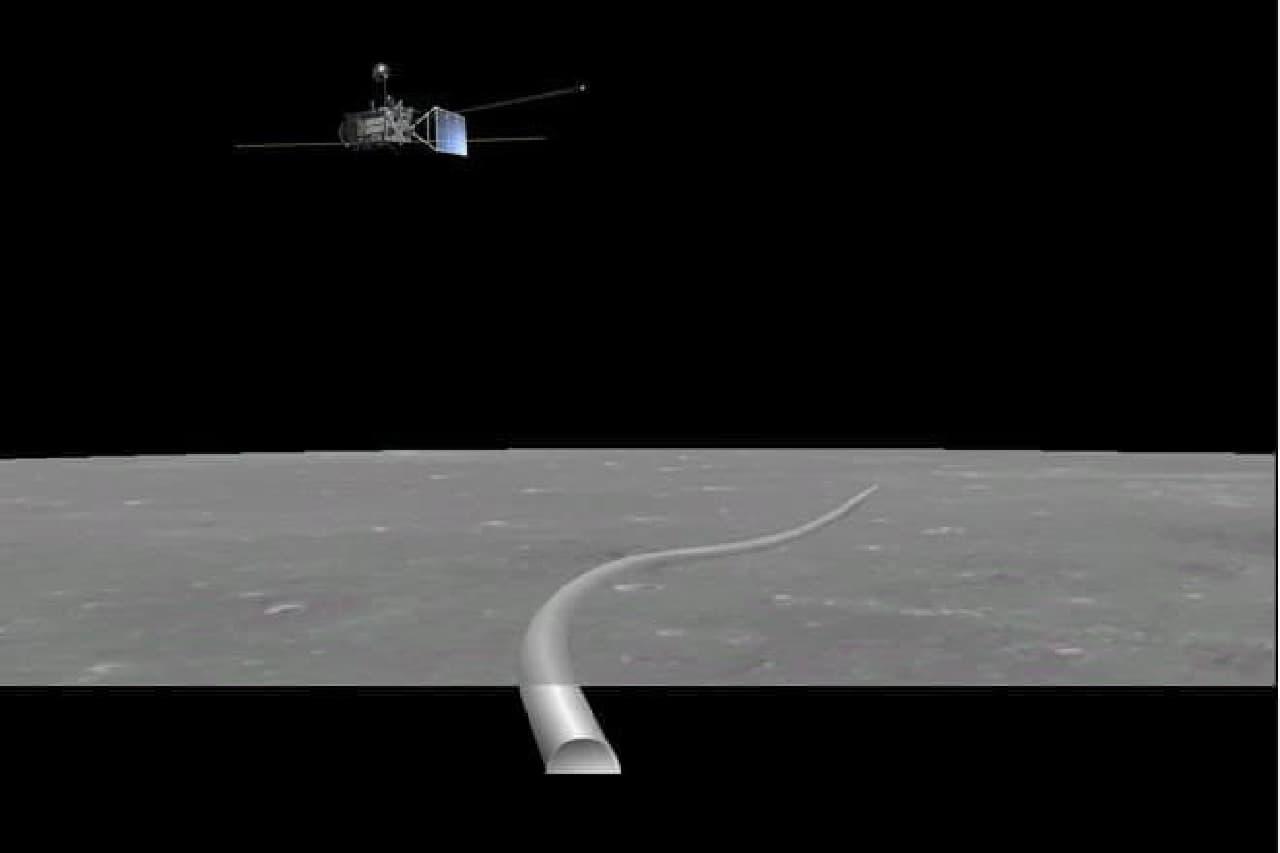 月の地下のイメージ