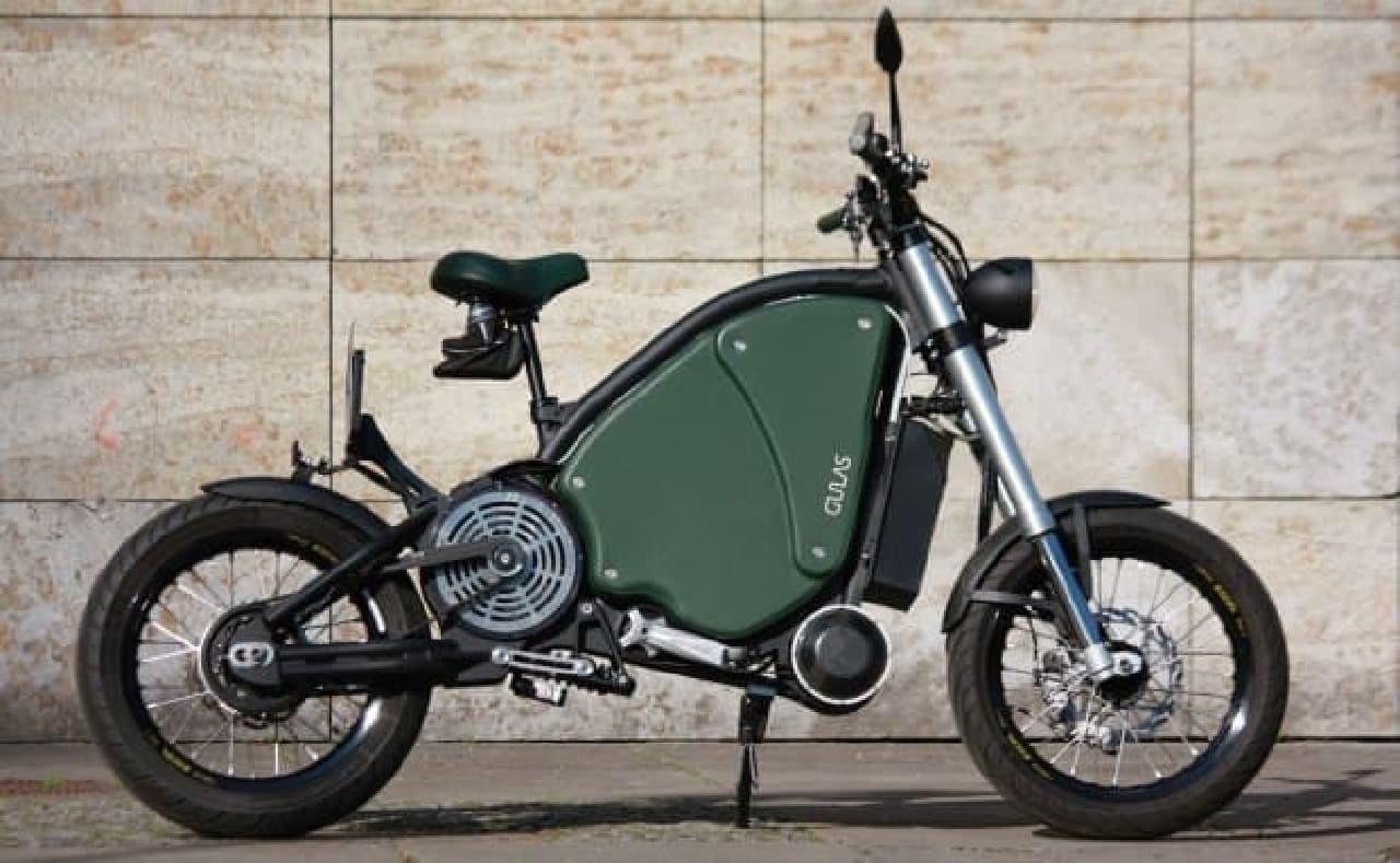 最高速度115キロ!高速道路を走る電動バイク「Gulas Pi1S」