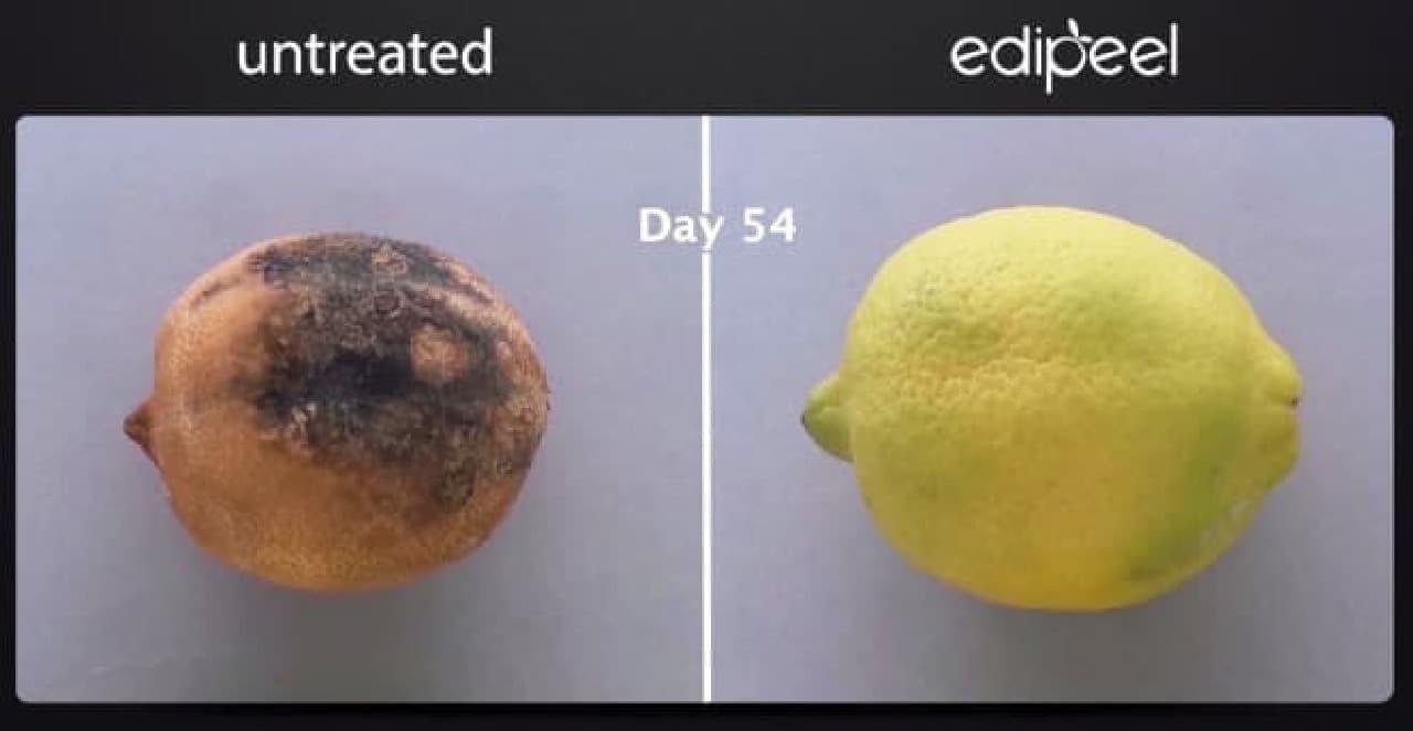 保存可能期間を最大5倍に延ばす、Apeel Sciencesの「Edipeel」