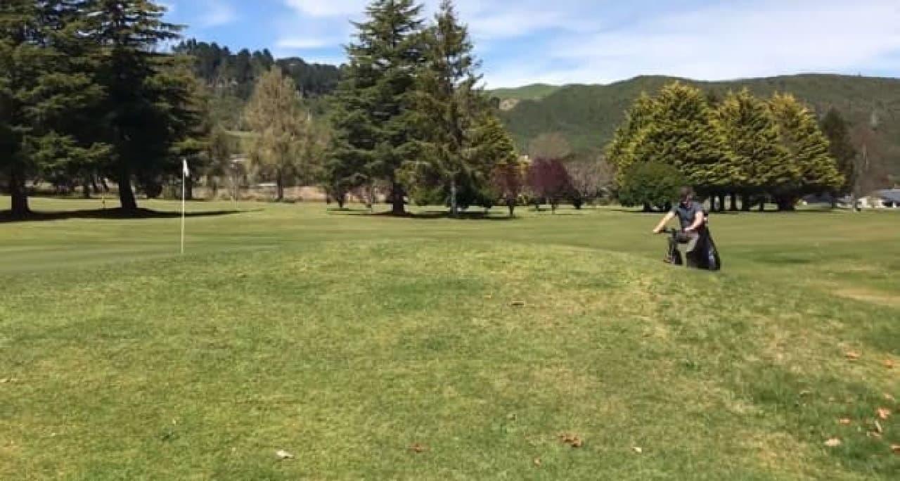 ゴルフ場専用電動アシスト自転車自転車「GOLFER」